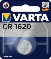1x Varta CR 1620 CR1620 3V Lithium Batterie Knopfzelle (Blister)