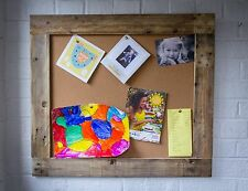 Rustic Pin Board/Bulletin Board Made Form Reclaimed Pallet Wood