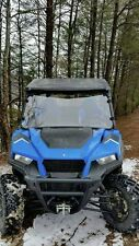 Polaris General 1000 Clear Full Front Windshield.1/4 THICK Polycarbonate!
