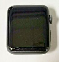 Apple Watch 1st Gen 42mm GPS 8GB Gray Watch Only (Cracked Screen, Will Not Pair)