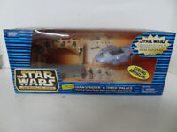 NEW Star Wars Action Fleet Micro Machines Episode 1 GIAN SPEEDER THEED PALACE
