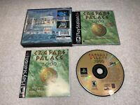 Caesars Palace 2000: Millennium Gold Edition (PlayStation PS1) Complete LN Mint!