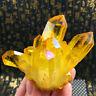 Natural Citrine Quartz Cluster Crystal Gem Stone Healing  Mineral Specimen Reiki