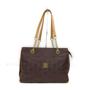 MCM Tote Bag  Browns Nylon 1424028