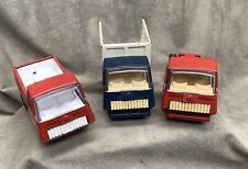 3 Vintage Tonka Mini Trucks Pressed Steel #55250 (Bt1)