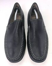 ECCO Men's 571004 Classic Moc Black Leather Driving Loafer- EURO- 46 US-12 UK-11