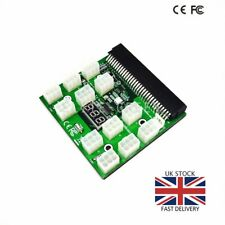 Breakout Board for HP Server Power Supplies GPU/ASIC Mining 12* 6 Pin PCIe Slots