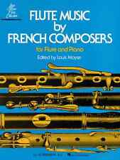"""""""Flute Music By French Composers"""" For Flute & Piano Music Book Brand New On Sale"""