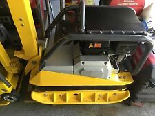 Wacker plate compactor 2015 bpu4045 gas reversible with Honda motor