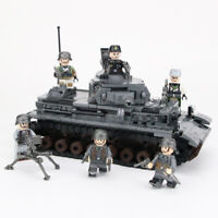 WW2 Tank building block toys compatible with legoing military army soldiers weap