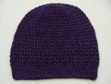 Violet - Acrylique - Taille Unique BAS casquette bonnet