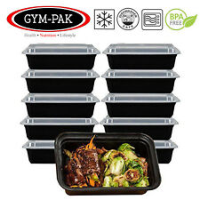 PK20 Meal Prep Food Containers 16oz Microwavable Reusable Stackable Lunch Box