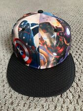 Rare Marvel Avengers Age of Ultron 59FIFTY Fitted Cap 7 1/4