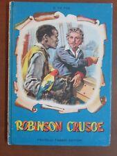ROBINSON CRUSOE Daniel De Foe Bartoli Fabbri I capolavori 1955 libro di da per