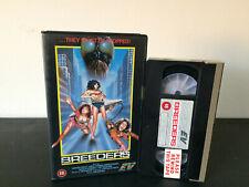 Breeders EX Rental VHS Tape - 80's Horror Alien Monster Rauncy Sexy EV Big BOX