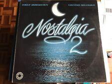 VARIOS - NOSTALGIA 2 LP DOBLE JEANETTE RAPHAEL FALCONS MARISOL CONNIE FRANCIS