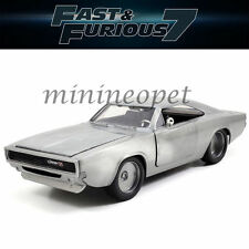 JADA 97350 FAST AND FURIOUS 7 DOM'S 1970 DODGE CHARGER R/T 1/32 BARE METAL