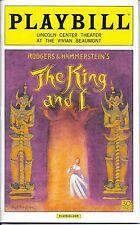 The King and I Playbill Opening Night + Ads, Kelli O'Hara