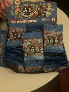 Lego Disney Minifigures Series 2 Display Case of 63 Packs 71024 63 Packs