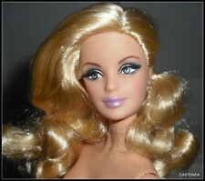 Nude Barbie Blonde The Look City Shine Model Muse Mackie Doll For Ooak