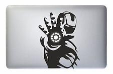 "Macbook 15"" Iron Man Encendido Decal Sticker (pre-2016 MB Pro/Air solamente)"