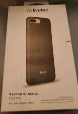 Evutec Karbon Sl Osprey Snap Case for iPhone 7 Plus- Black Ap-755-Si-Ka1