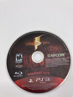 Sony PlayStation 3 PS3 Disc Only Tested Resident Evil 5 Ships Fast
