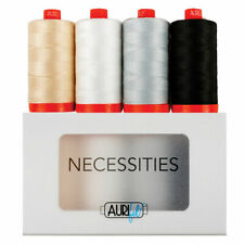 Aurifil Necessities Cotton Thread 50wt 4 Large Spools 1422 yd /1300 m AC50NC4