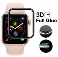 For Apple Watch Series 4 40mm/44mm Full Cover Full Glue 3D Curved Tempered Glass