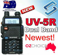 Radio Scanner Handheld Police Fire Transceiver Portable Walkie Baofeng UV5R 2Way