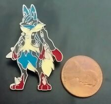 """Pokemon 1"""" XY Flashfire Lucario Individual Pin (Officially Licensed)"""