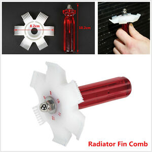 Car AC Air Condenser Radiator Evaporator Fin Straightener Cleaner Comb Rake Tool