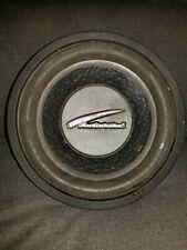 "Audiobahn 10"" Subwoofer AW1051T Black Rim Flames Bass 10"""