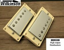 Wilkinson Hot Humbucker Pickups for Gibson® Epiphone® MWCHB  Chrome Set MIK