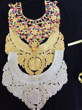 Stunning Neckline Gala Neck Collar Applique Dressmaking Sewing