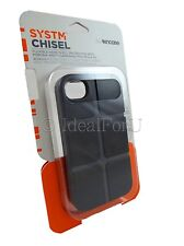 INCASE System Chisel Case Black Asphalt iPhone 4 4S Hardshell Cover SY10005