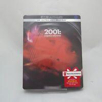 2001: A Space Odyssey - 4K UHD & Blu-ray Steelbook Korean Edition (2018)