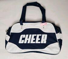 Chasse Girl's Cheer Cheerleader Duffle Bag Navy Blue/White