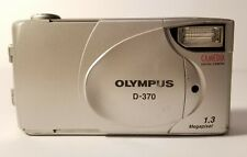 Olympus D-370 Camedia Digital Camera 1.3 Mega Pixel 2.0X Digital Tele
