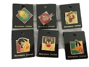 cartoon pin badges looney tunes