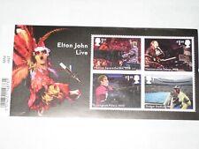 2019 MS Elton John -  Mini Sheet  Miniature Sheet with Barcode