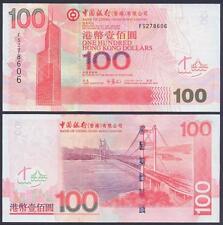 HONG KONG 100 Dollars 2007 UNC P 337 d