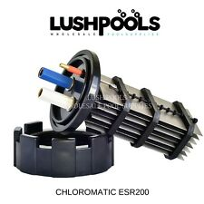 CHLOROMATIC / AQUACHLOR ESR200 Replacement Chlorinator Cell -  5 YEAR Warranty