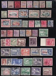 BRITISH GUIANA 1889-1965 LOT OF 91 STAMPS MINT & USED, SCOTT CV US$320.00 !!