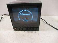 "Sony PVM-91 Video Studio Monitor 9"" Inch Monochrome Black/White CRT 800 Lines"