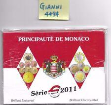 Principato di Monaco EURO BU 2011 Principauté de Monaco Brillant Universel NEW +