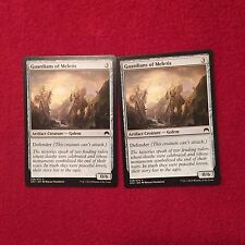 MTG X2 Guardians of Meletis Origins Magic the Gathering Cards Artifact Creature