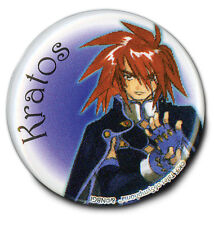 Tales Of Symphonia Kratos 1.25 inch Button