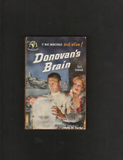 DONOVANS BRAIN.CURT SIODMAK. FIRST EDITION.SIGNED.NICE COPY!