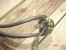 Arctic cat 1999 ZR 500 coils